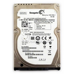 160 GB Laptop Sata HDD 2,5″