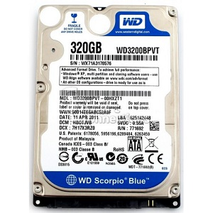 320 GB Laptop Sata HDD 2,5″
